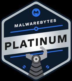 Malwarebytes Platinum Partner